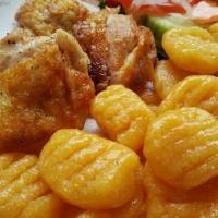 Kartoffel-Süßkartoffel-Gnocchi
